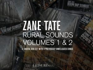 Zane Tate Rural Sounds 1 and 2 plus digital box set with previously unreleased songs